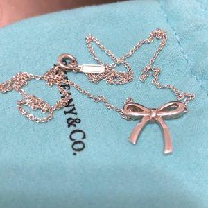 Tiffany Bow necklace
